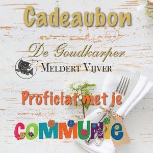 Meldert Vijver cadeaubon Communie