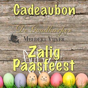 Meldert Vijver Cadeaubon Pasen