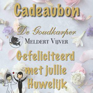 Meldert Vijver Cadeaubon Huwelijk