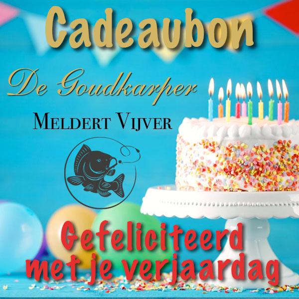 Meldert Vijver cadeaubon verjaardag